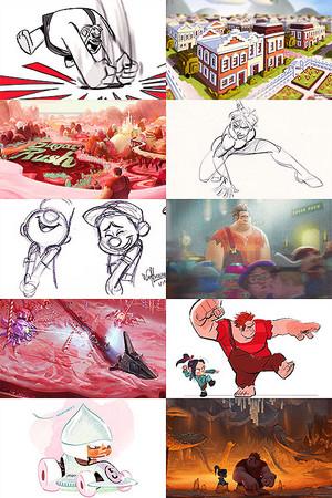 Wreck-It Ralph Concept Art