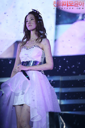 Yoona concierto