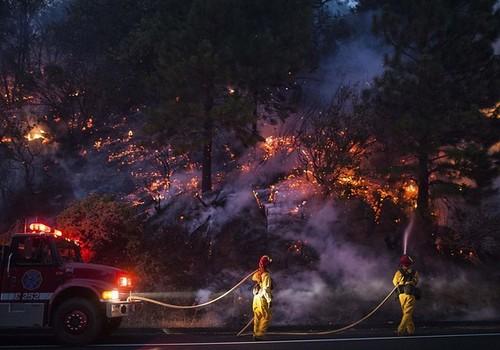美利坚合众国 壁纸 possibly containing a 火, 消防 called Yosemite Fires