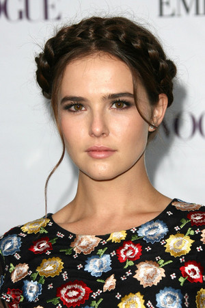 Zoey on red carpet