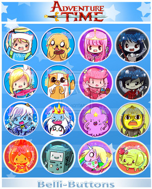 adventure time button