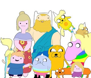 adventure time_pillow family