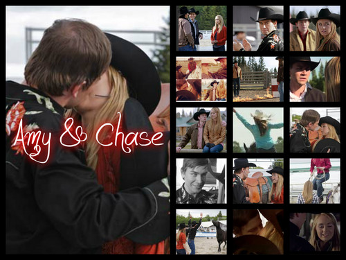 Heartland wallpaper possibly with a stained glass window and anime entitled amy and chase