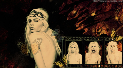 andrej pejic wallpaper probably containing anime titled andrej pejic
