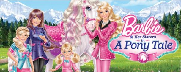 barbie and her sisters in a pony tale songs