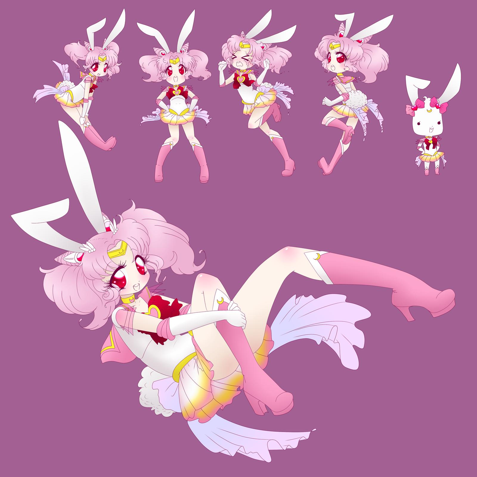 চিবি moon bunny