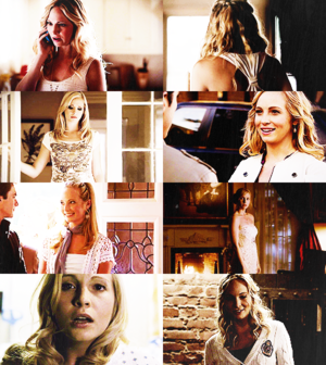 colors of caroline forbes → white