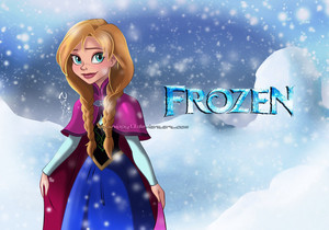 disneys frozen anna