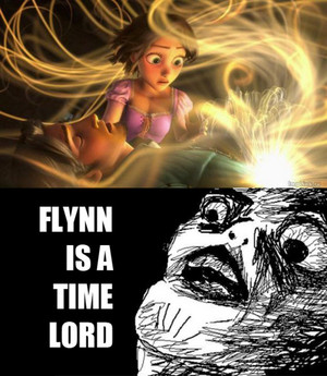 doctor who in Tangled