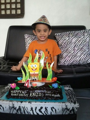 enzo's 4th birthday