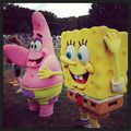 enzo with spongebobo - spongebob-squarepants photo