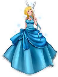 fionna con vestido