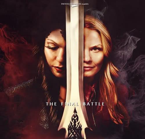 The Evil Queen/Regina Mills wallpaper possibly with a claymore entitled gina