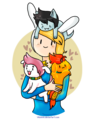 hug time - fiolee-fionna-and-marshal-lee photo