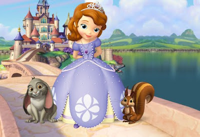Sofia The First achtergrond called invite
