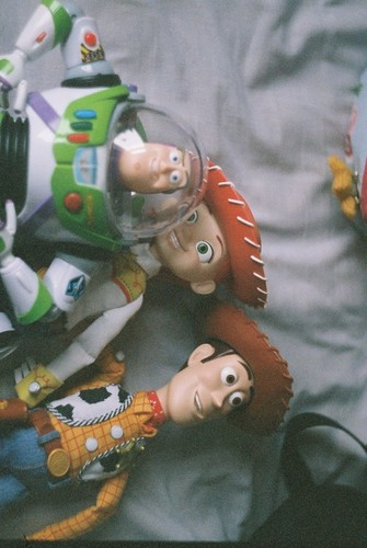 Jessie (Toy Story) wallpaper probably with a neonate titled jessie