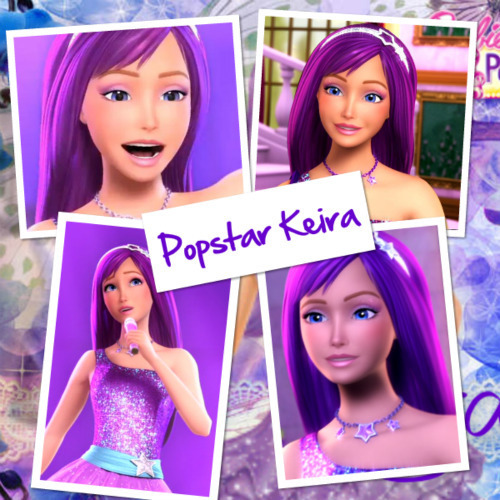 Barbie the Princess and the popstar wallpaper probably with a portrait called kiera