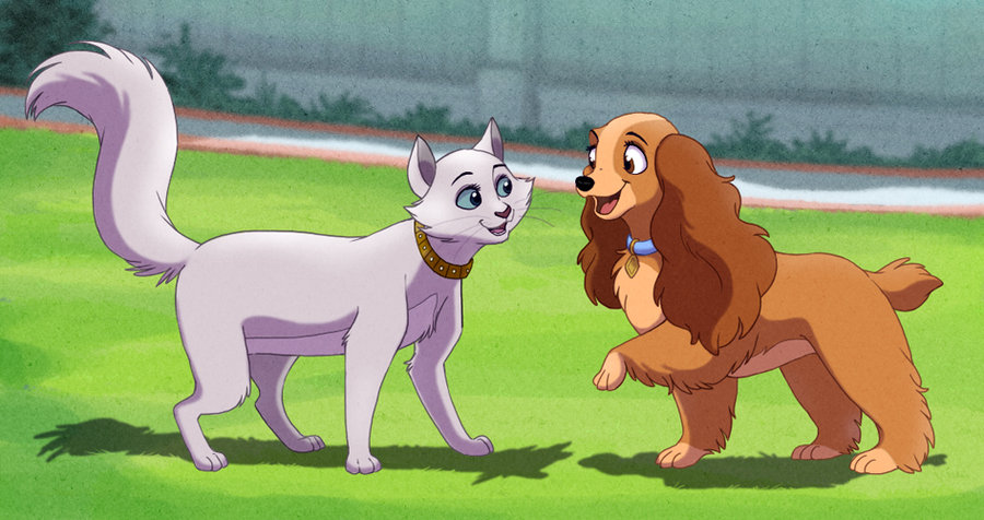 Lady And The Tramp Lady And Tramp Fan Art 35614554 Fanpop