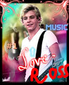 love ross - ross-lynch-austin fan art