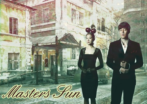 MASTER'S SUN KDRAMA Hintergrund containing a street, a business suit, and a well dressed person entitled master's sun boaelly