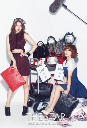 miss A 'The Star' magazine!