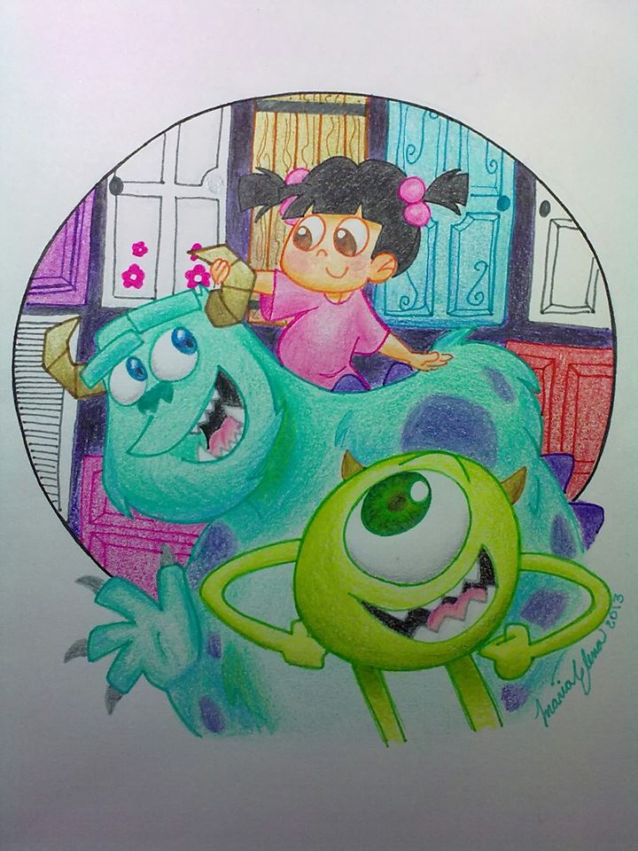 monsters inc images monster s inc hd wallpaper and background