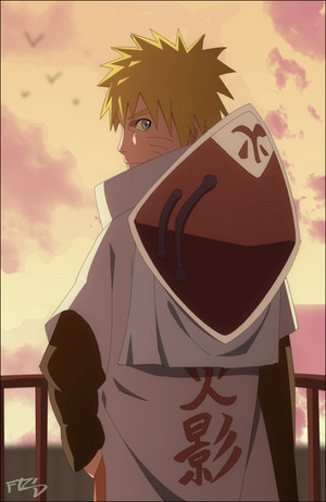 naruto as hokage