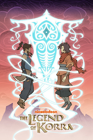 poster of Korra and Wan, made exclusively for New York Comic Con