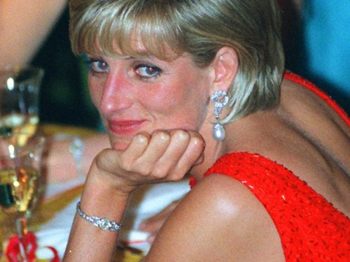 Princess Diana achtergrond titled princess of wales