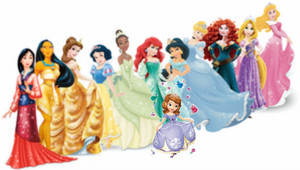 princess sofia and Disney princesses