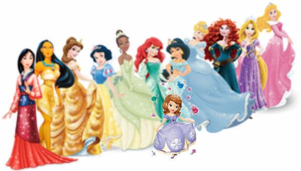 princess sofia and disney princesses