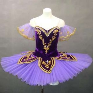 purple ballet tutu
