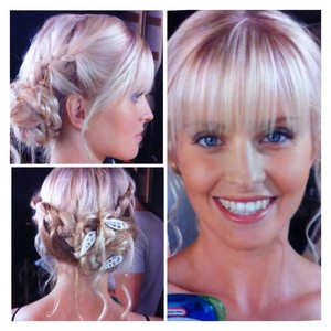 sirenas braided hairstyle