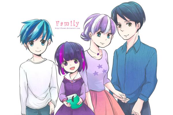 twilight's family humanization