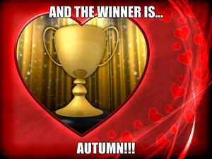 winner is autumn