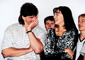 young Jagr and Kubelkova