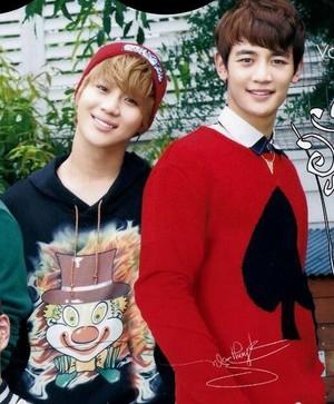 """(2min) Taemin and Minho """"Seek"""" Magazine"""