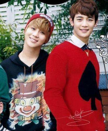 2min) Taemin and Minho