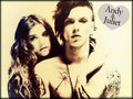 ★ Andy & Juliet ☆  - black-veil-brides wallpaper