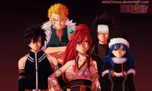 *New Fairy Tail Team*