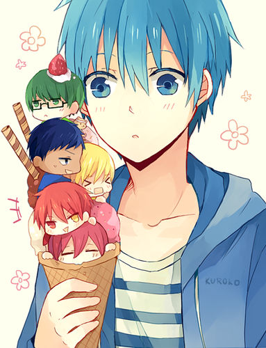 Kuroko no Basuke wallpaper containing anime entitled ~GoM~