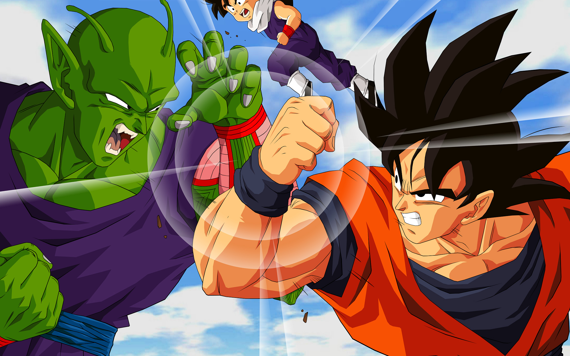 Dragon ball z images goku v s piccolo hd wallpaper and for Portefeuille dragon ball z