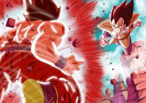 *Goku v/s Vageeta*