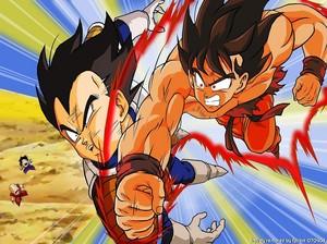 *Goku v/s Vageta*