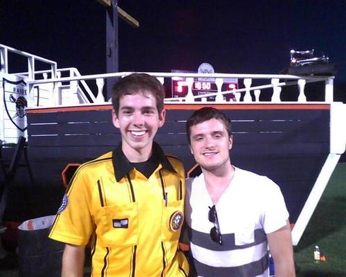 Josh at the Ryle bóng đá game yesterday (10.3.13)
