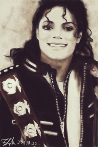The Bad Era achtergrond called ^Michael^