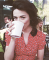 """My personal style is eclectic, I would say. I always like to mix and match things."" - crystal-reed photo"