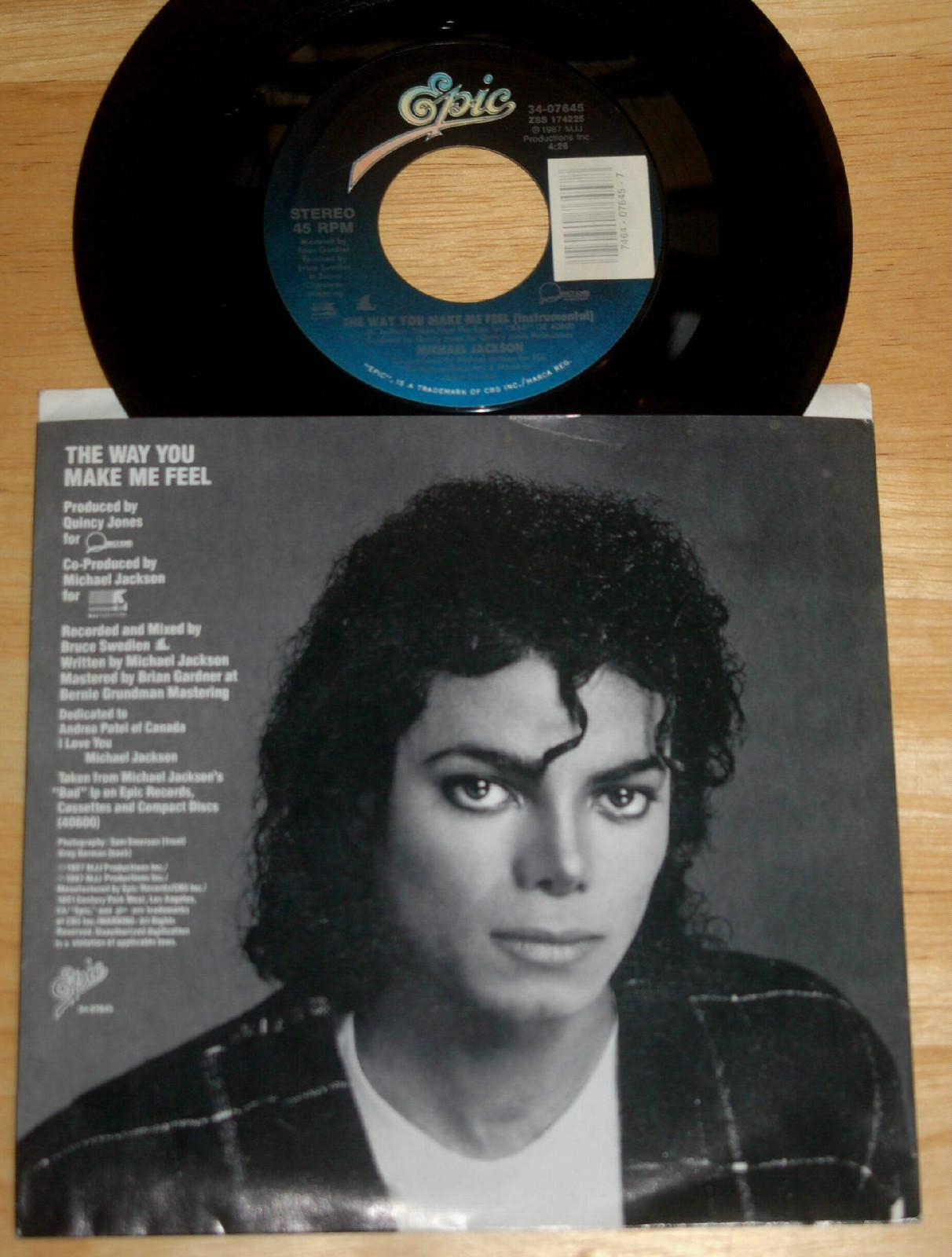 """The Way tu Make Me Feel"" On 45 RPM"