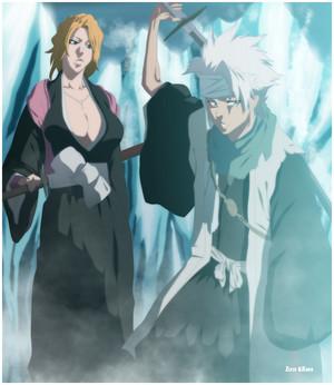 *Toshiro & Rangiku*