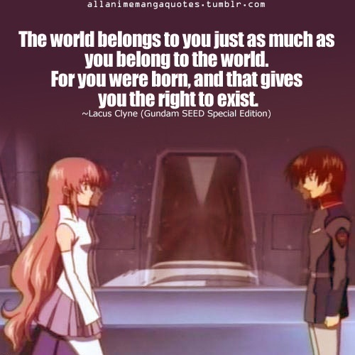 Katherine1517 Images Tumblr Gundam Seed Quotes Wallpaper And